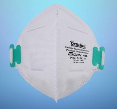 20 Pcs/Box Benehal NIOSH N95 Respirator MS8225 4