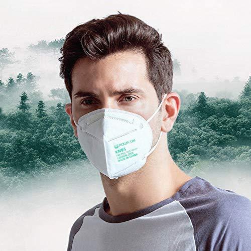 Powecom KN95 Face Mask Protective Masks EUA Authorized - 10 pc 4