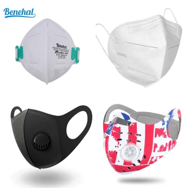 PMedi Mask Bundle Niosh N95 + KN95 + PM2.5 Mask + Sports Mask 1