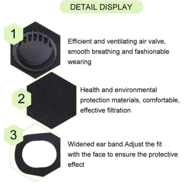 PMEDI PM2.5 Bactericidal Face Mask - Free Shipping 1