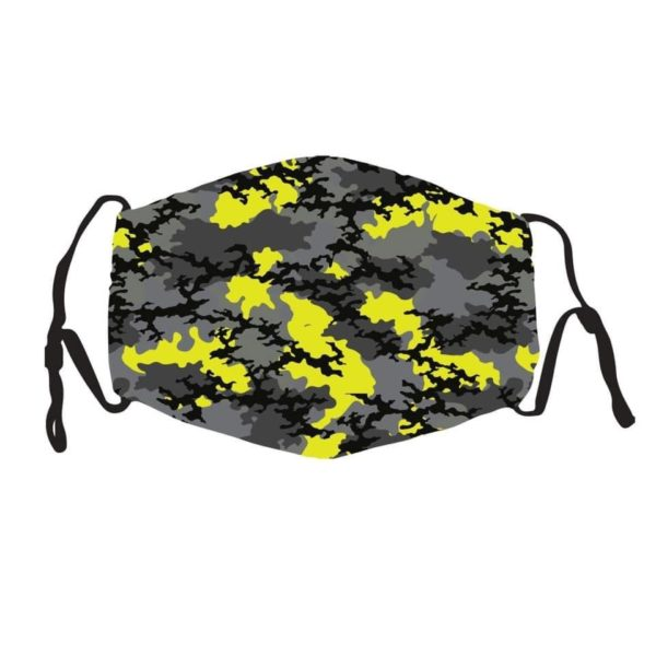 PMedi Artist Mask (Silk) With 2 PM2.5 Filters Camo