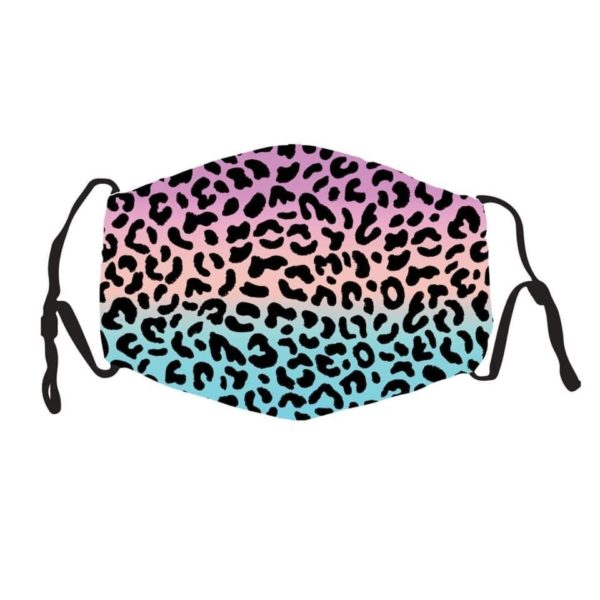 PMedi Artist Mask (Silk) With 2 PM2.5 Filters Leopard