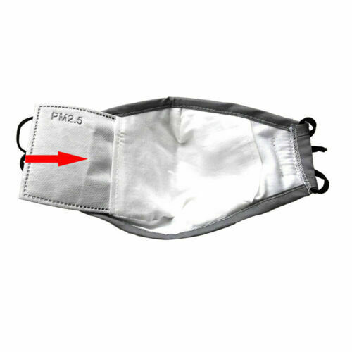 2pcs Protective Face Covering With 2 PM2.5 Filters - Free Shipping 8