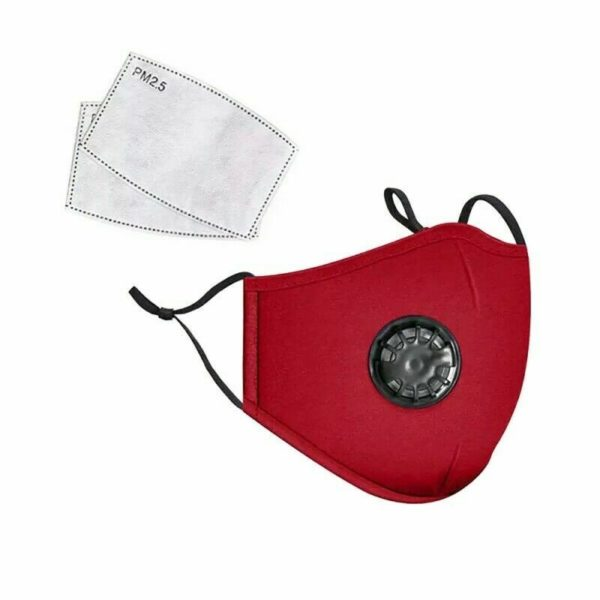 2pcs Protective Face Covering With 2 PM2.5 Filters - Free Shipping 9
