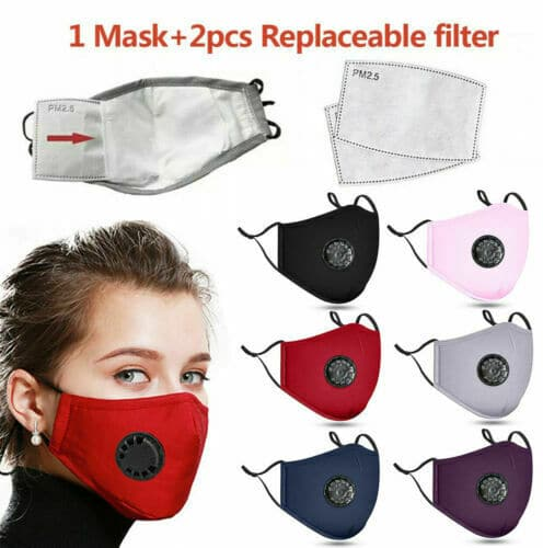 Pmedi PM2.5 Reusable Cotton Face Mask