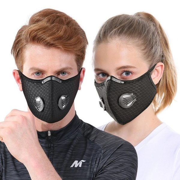 Pmedi sports mask with filter