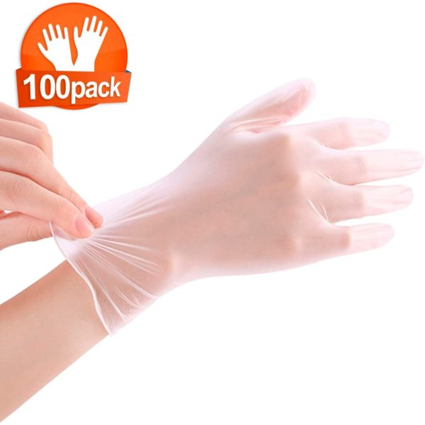 Sunset LATEX GLOVES Size L,M Powder-Free 100/Box 2
