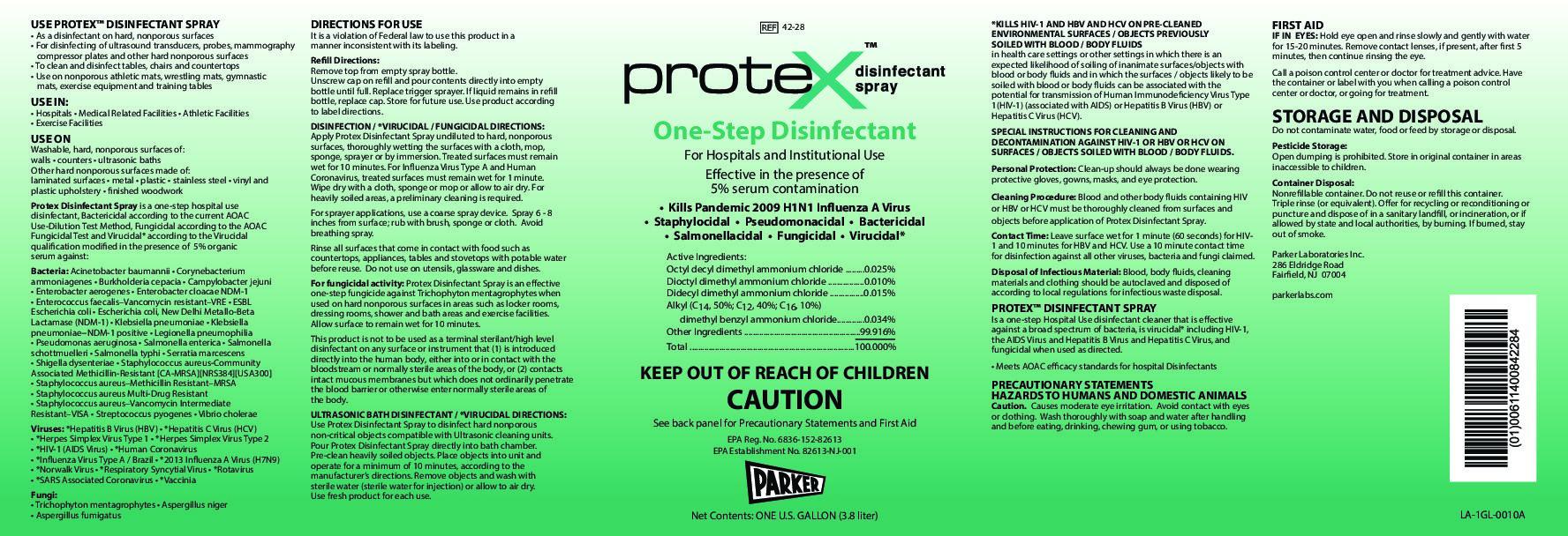 Protex Disinfectant Spray 1 Gallon 2
