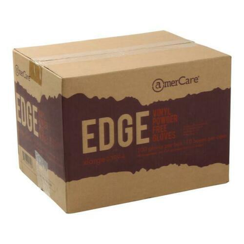 1000 Pcs Amercare Vinyl Gloves M / L Powder-Free - Free Shipping 1
